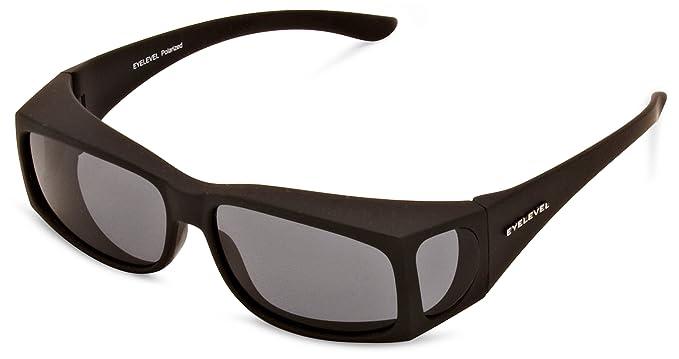 a07f853c200 Eyelevel Overglass Slim Polarised Men s Sunglasses Black One Size ...