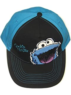 fe042078 Amazon.com: 123 Sesame Street Cookie Monster Fuzzy Tv Show Snapback ...