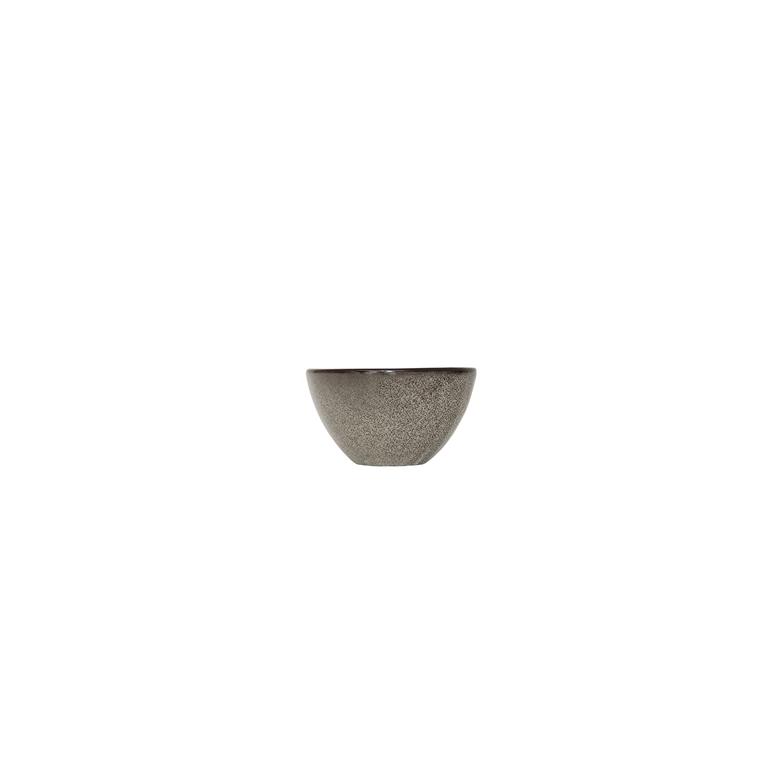 D/&V 6 Piece Stōn Porcelain Dinnerware Handled Bowl Set 4 x 3.5 Mist 4 x 3.5 5900.GRY.5906