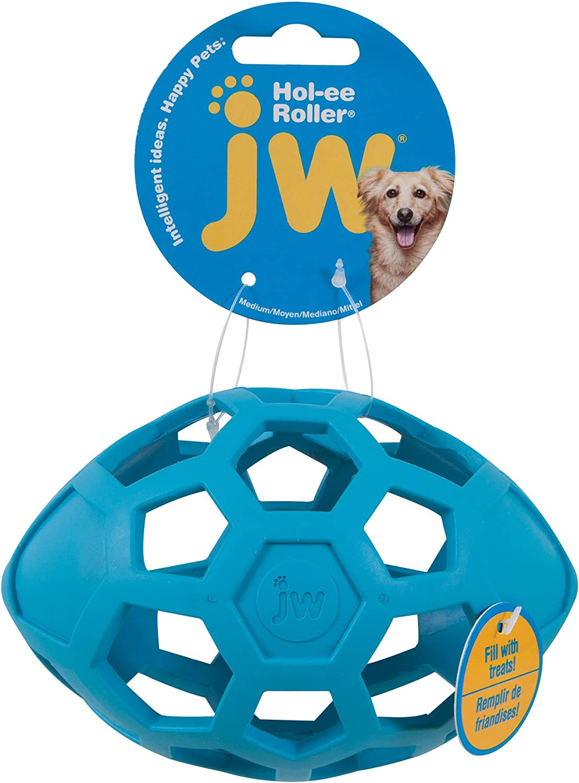 JW Pet Company HOL Ee Roller Egg Pet Toy Balls