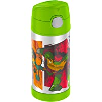 Thermos Funtainer 12 Ounce Bottle, Teenage Mutant Ninja Turtles