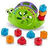 Fisher-Price Caracol formas y canciones, juguete para bebé +6 meses (Mattel FRB96)