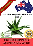 Aloe Vera Gel (Liquid) - 100% PURE Australian Certified Organic - DIY Skincare (100 ml)