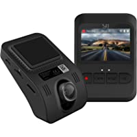 YI Dash Cam Full HD 1080P, Mini In-Car Camera 2.0 LCD Screen with 140° Wide Angle Built In G-Sensor, Loop Recording, Parking Monitoring Night Vision(Black)