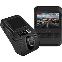 YI Mini Dashcam Full HD 1080p Caméra Embarquée Caméra de Voiture avec Grand Angle 140 ° Capteur-G Ecran LCD 2.0 Vision Nocturne Noir