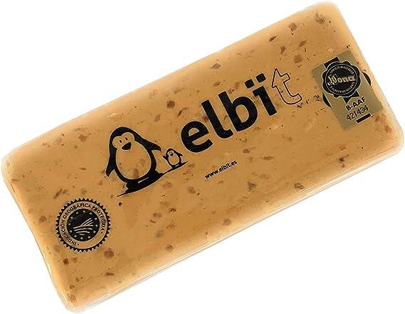 Elbit® - Turron de Jijona Gourmet   Turron blando tradicional artesano calidad suprema   Barra turrón 300 gr: Amazon.es: Alimentación y bebidas