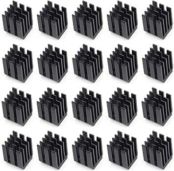 Easycargo 20 piezas Kit disipador impresora 3D + Cinta adhesiva ...