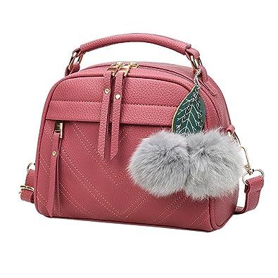 adad706e8c Lubity Sac a main femme sac cabas sac a main cuir sac fourre hobo grand sac  bandouliere sac à main femme pas cher Noir gris rouge PU cuir sac  bandoulière ...