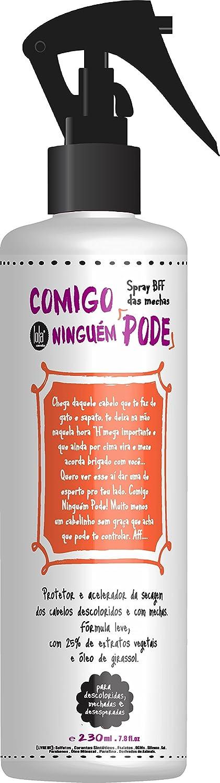 Amazon.com : Linha Comigo Ninguem Pode Lola - Spray BFF das Mechas 230 Ml - (Lola Nobody Can Hang Collection - Strands Best Friend Spray 7.77 Fl Oz) : ...