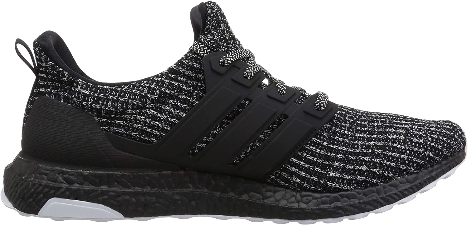 adidas Men's Ultraboost Running Shoes Cloud White/Black/Shock Pink