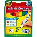 Crayola 8 My First™ Washable Round Nib Markers