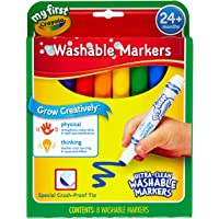 Crayola 8 My First™ Washable Round Nib Markers