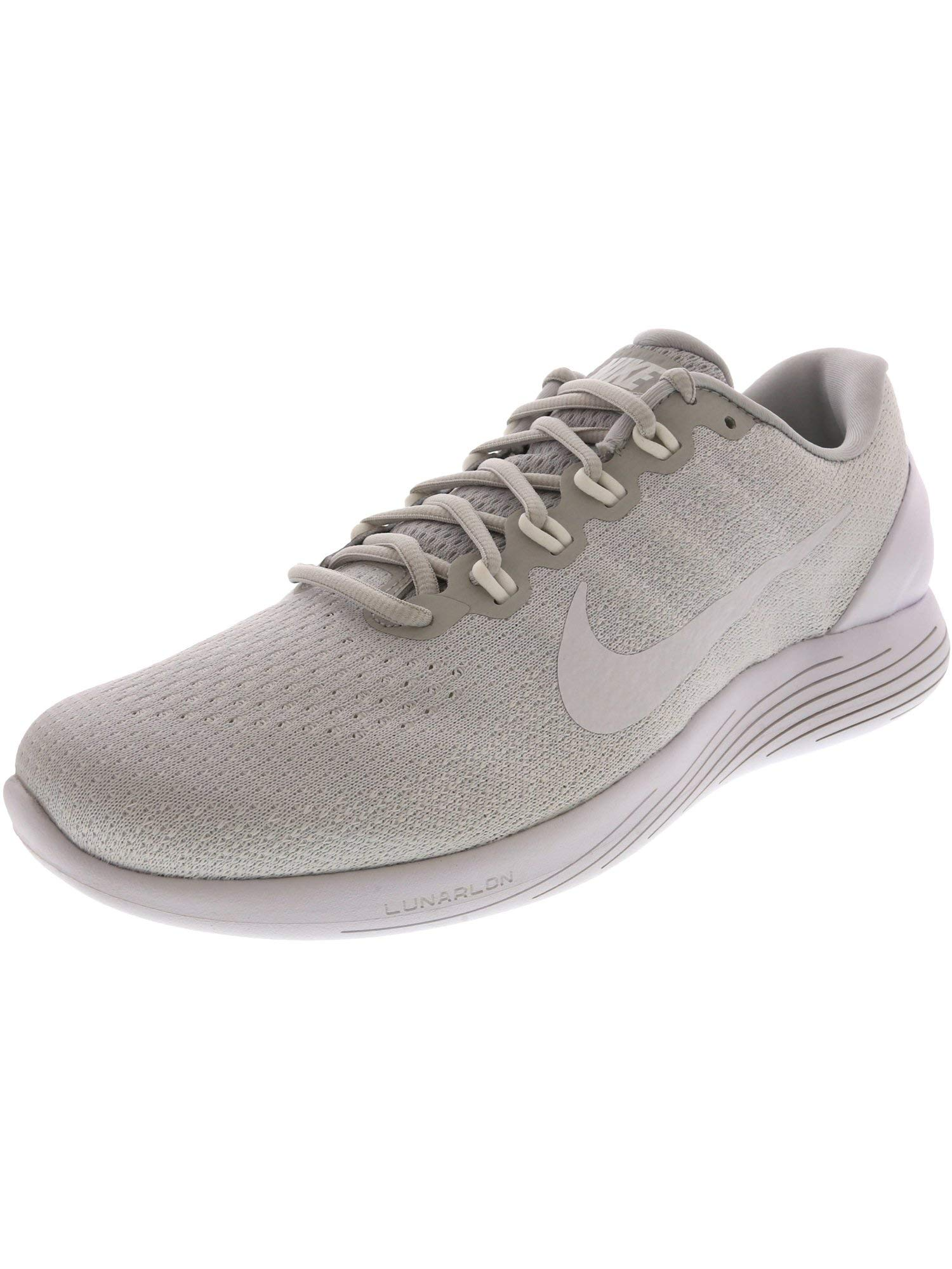 611d7eecc5c54 Galleon - Nike Men s Lunarglide 9 Pure Platinum White - Ankle-High Running  Shoe 10M