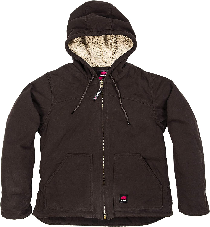 Berne Women's Washed Hooded Coat: Clothing