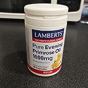 Lamberts Aceite de Prímula 1000mg - 90 Cápsulas: Amazon.es: Salud ...