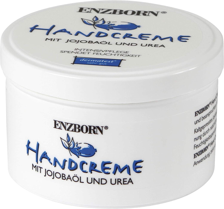 ENZBORN Hand Cream with Jojoba Oil and Urea