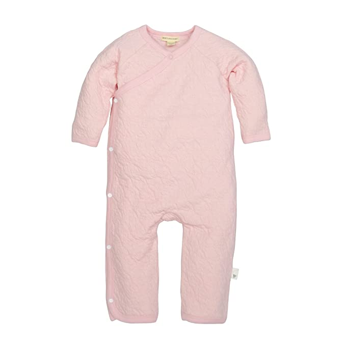 b78d1f675 Burt's Bees Baby Baby Girls' Romper Jumpsuit, 100% Organic Cotton One-Piece