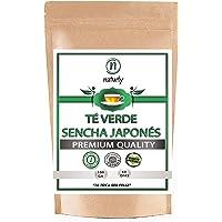 Té Verde Sencha Japonés 100% Natural y Orgánico. Potente Quemagrasas con Efecto Adelgazante y alto contenido de…