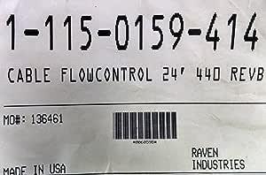 Cable 6 Flow Control SCS 440 Raven 115-0159-404