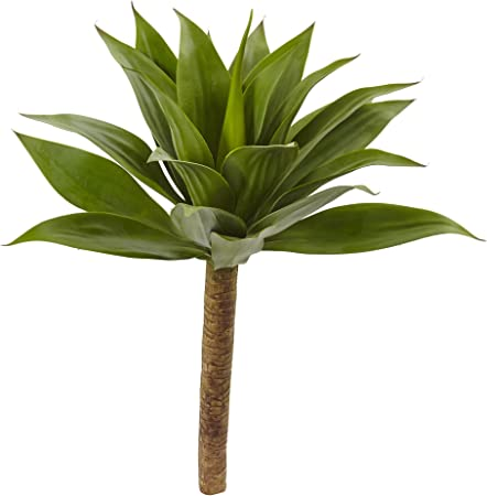 in plastic pot with stem height approx 160 cm Art Plant Agave Green