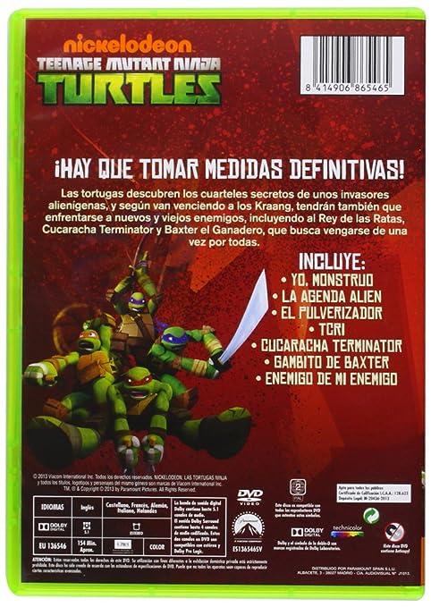 Las Tortugas Ninja: La Invasión De Kraang [DVD]: Amazon.es ...