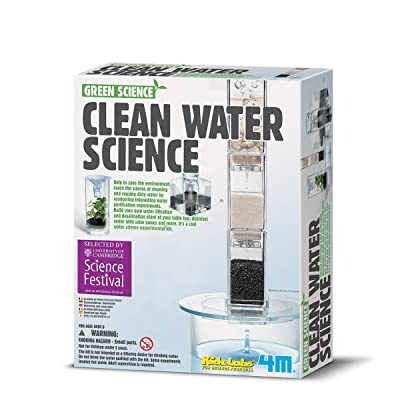 Playwell Green Science Water Filter Science Kit: Toys & Games