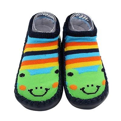 Bébé Animation Chaussettes Pantoufle Chaussures, QinMM Migon Bottes Dessin Nouveau-né Filles Garçons Antidérapant