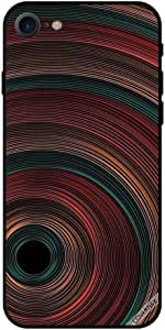 Case For iPhone 7 - Circles Illusion