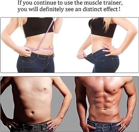 Nieoqar Electroestimulador Muscular Abdominales Entrenamiento ...