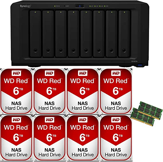 by CMS D42 32GB 2X16GB Memory RAM Compatible with Synology DiskStation DS1819