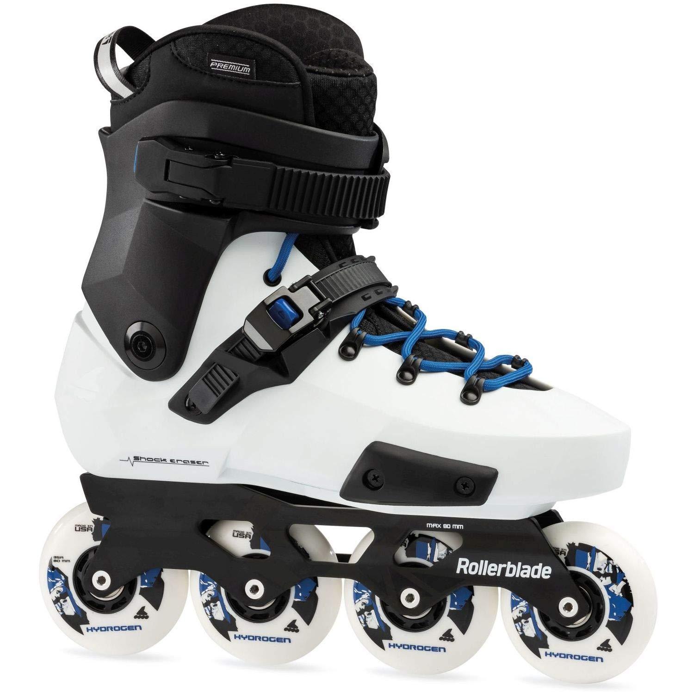 275 Rollerblade Twister Edge X Skates White Adults Unisex White//Royal Blue