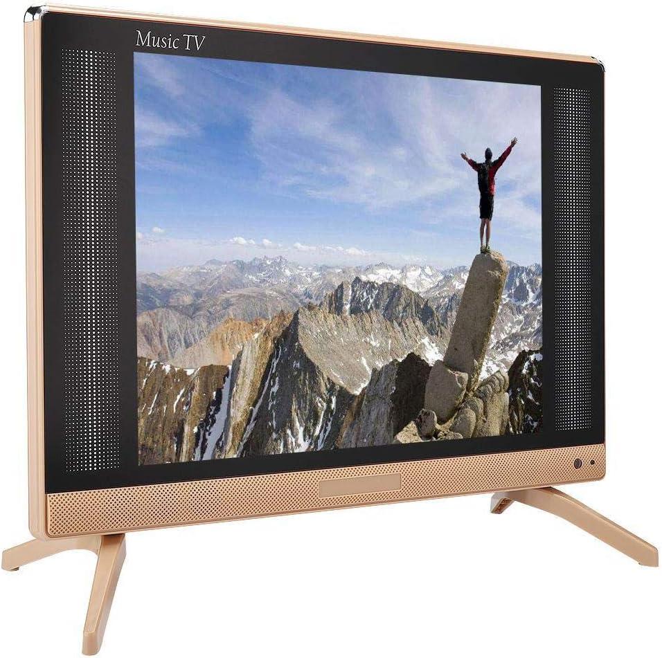 Televisor LCD HD de 22 Pulgadas, 1366x768 Alta definición 16: 9 260 CD/m2 Soporte LCD TV TV Digital analógica, Escritorio/Pared 1080P Televisión con Sonido de bajo Soporte de Calidad HDMI/USB(EU): Amazon.es: Electrónica