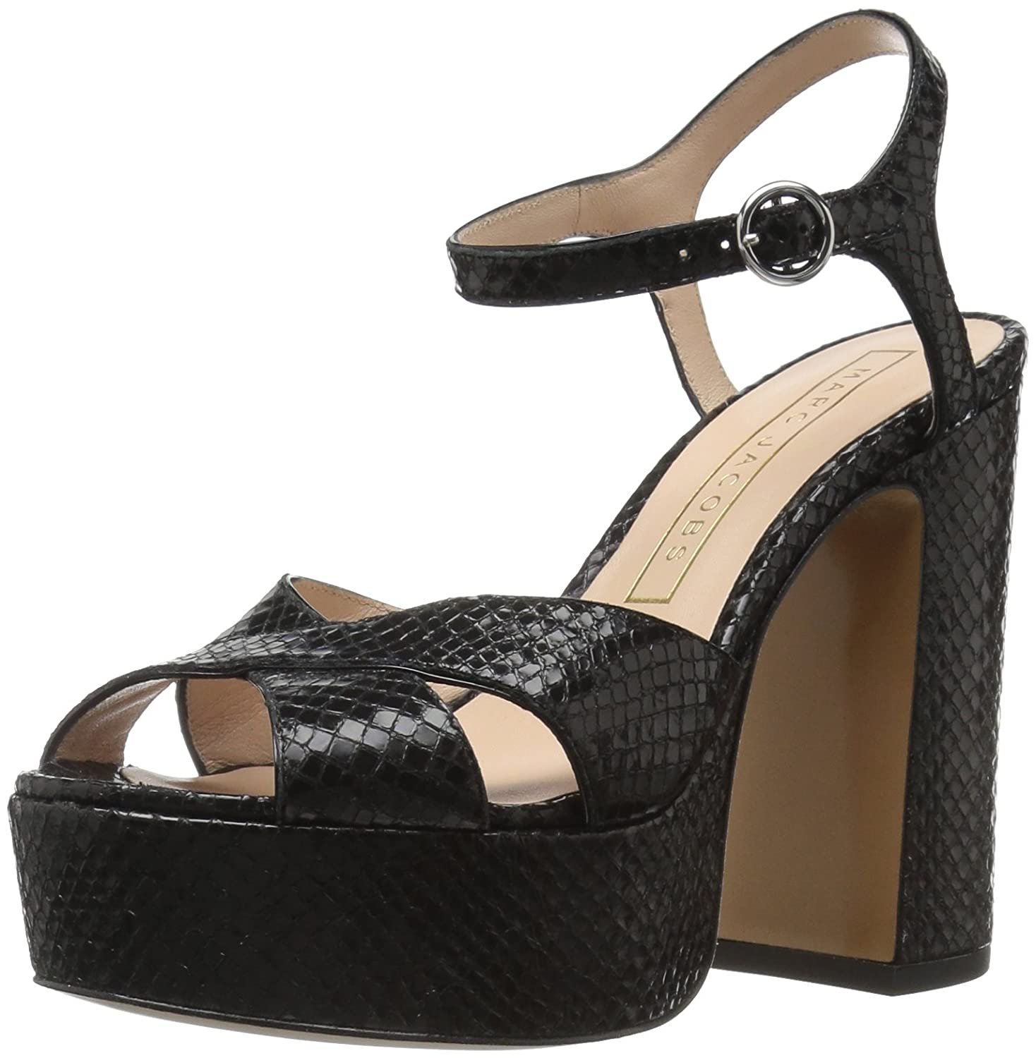 e3a23dfc925 Where To Shop For Marc Jacobs Women s Lust Print Platform Sandal On ...
