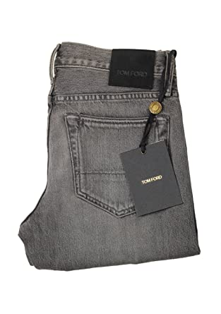 441bb6de57bcc8 Tom Ford CL Gray Slim Fit Jeans TFD001 Size 47/31 U.S. at Amazon ...