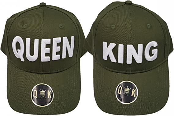 King & Queen Baseball Caps - Gorras DE Beisbol (King & Queen ...