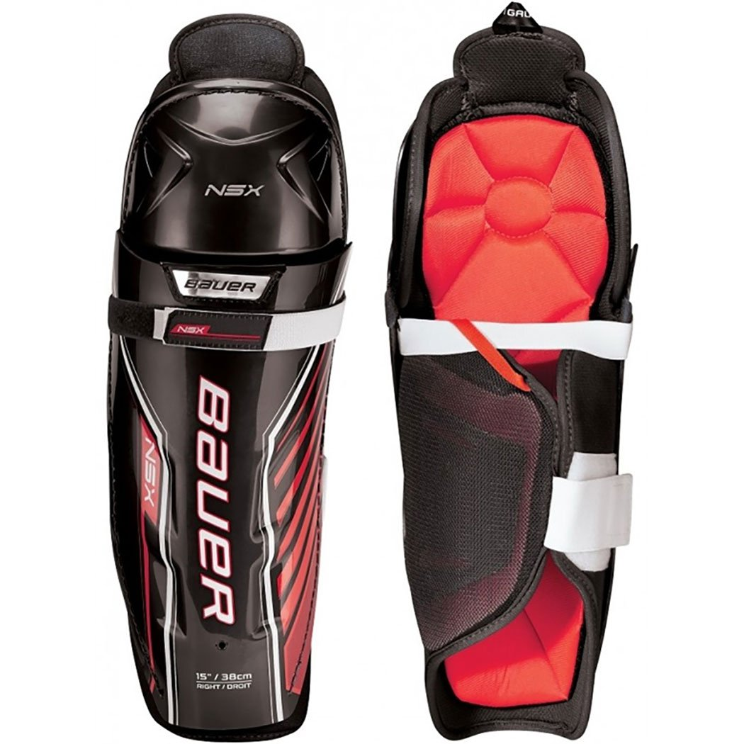 Bauer NSX Hockey Shin Guards (13 Inch)