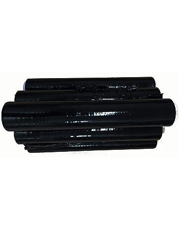Bobina de film negro para embalar en caja de 6 rollos
