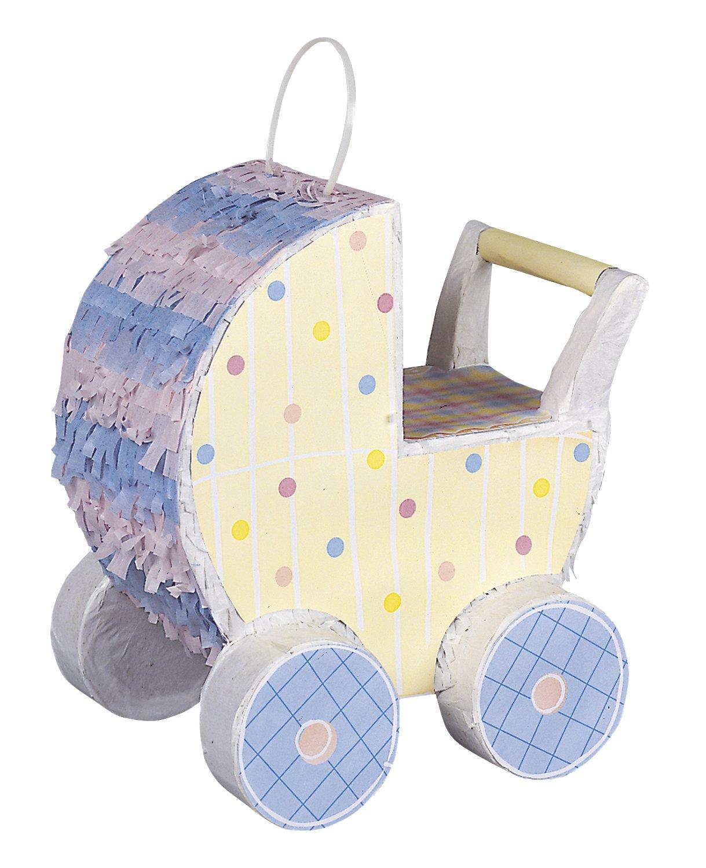 Mini Baby Carriage Decorative Pinata by Unique
