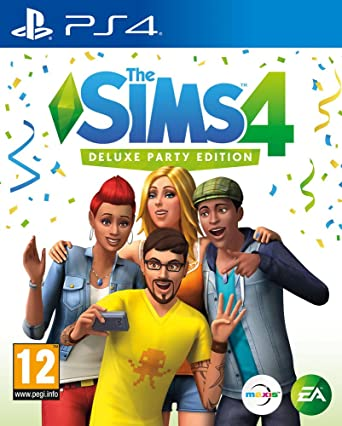 The Sims 4 Deluxe Party Edition (PS4): Amazon co uk: PC