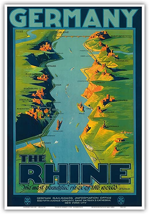 1930s 5th Ave Shopping New York City Vintage Style Travel Poster 24x36
