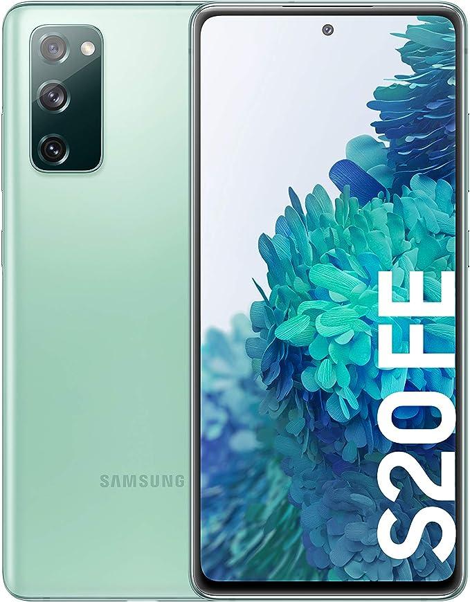Samsung Galaxy S20 FE, Smartphone Android Libre, Color Verde [Versión española]: Amazon.es: Electrónica