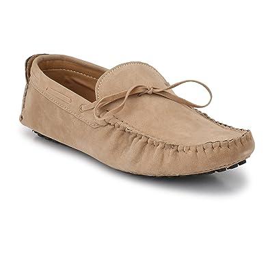 922a3e1427509 Big Fox Men's Leather Kiltie Tasseled Loafers