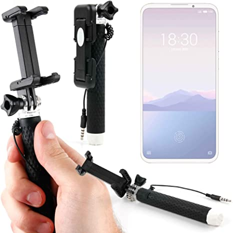 DURAGADGET Palo Selfie (Selfie-Stick) para Smartphone Meizu 16Xs ...
