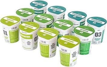 fitmeals Low de carb proteína de cereales Sixpack, 12 unidades (12 x 90 g), (diabéticos Adecuado) Vegano) & sin azúcar, fitmeals