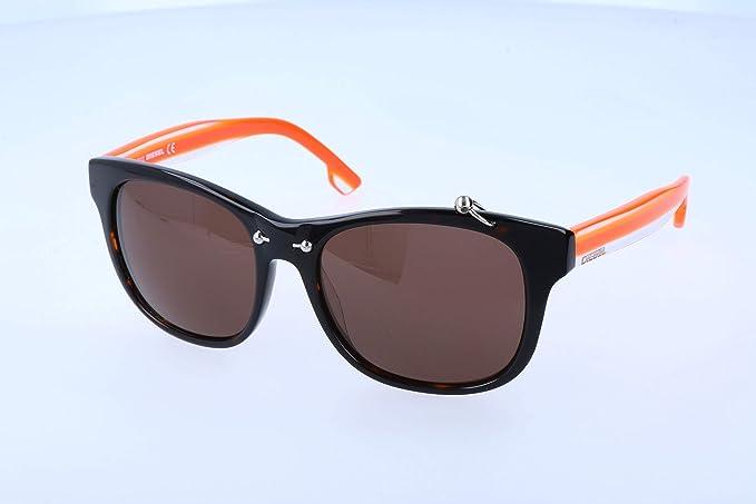 Diesel Unisex adulto Gafas de sol, Naranja (Orange), 53 ...