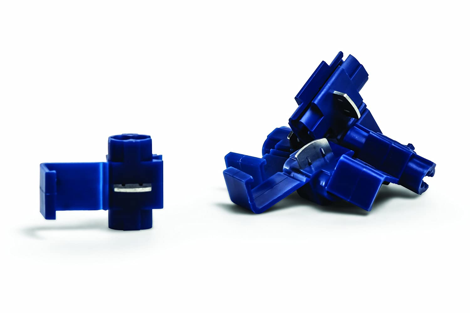 Camco 63801 Blue 18-14 AWG Self-Tapping Connector Pack of 5