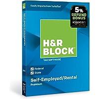 H&R Block Tax Software Premium 2018 with 5% Refund Bonus Offer