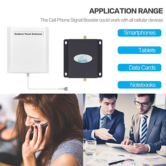 Amazon.com: Cell Phone Signal Booster, HJCINTL Cell Phone Booster 4G LTE ATT Signal Boosters High Gain FDD 700Mhz Band 12/17 Home Mobile Phone Signal ...