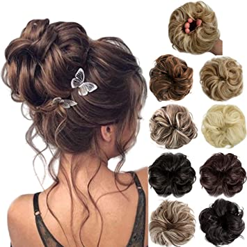 Brown Polka Dot Scrunchie  Hair Tie Scrunchie for Women   Messy Bun Scrunchies  Pony Tail Scrunchie  Wrist Accessory  VSCO Scrunchie