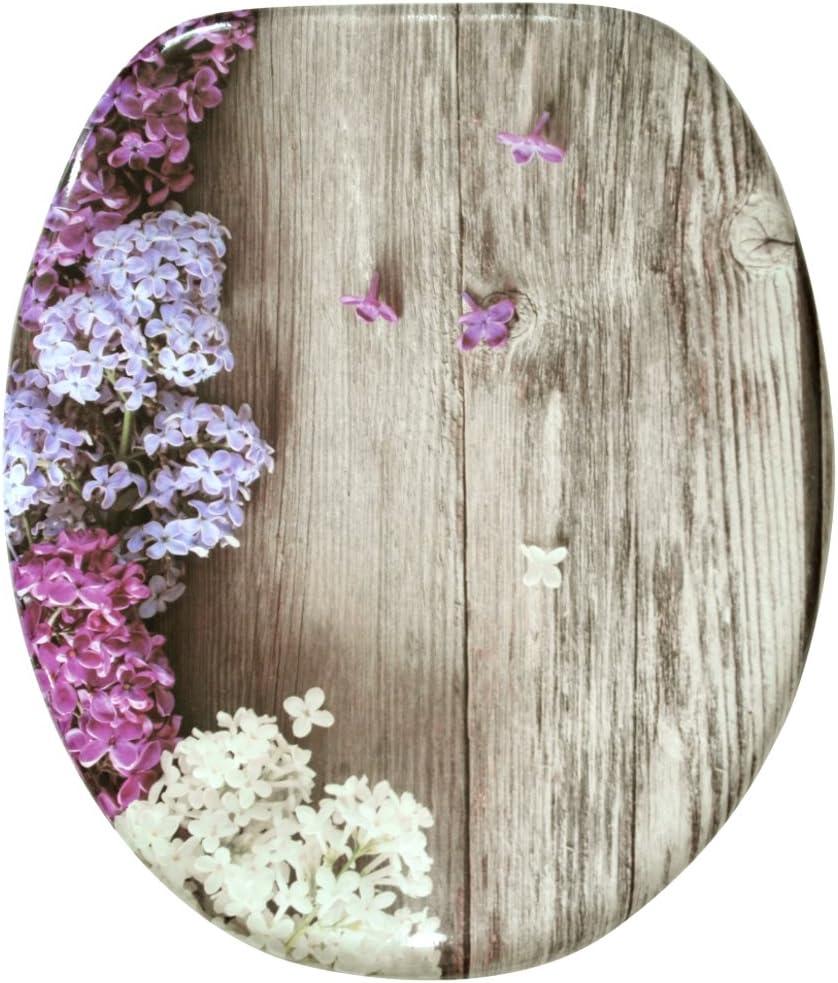 Bamb/ú verde gran selecci/ón de atractivos asientos de inodoro con calidad superior y duradera de madera Asiento para inodoro de cierre suave